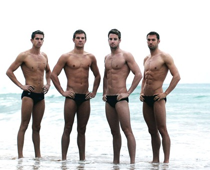 Australian Olympic Games Swimming Team