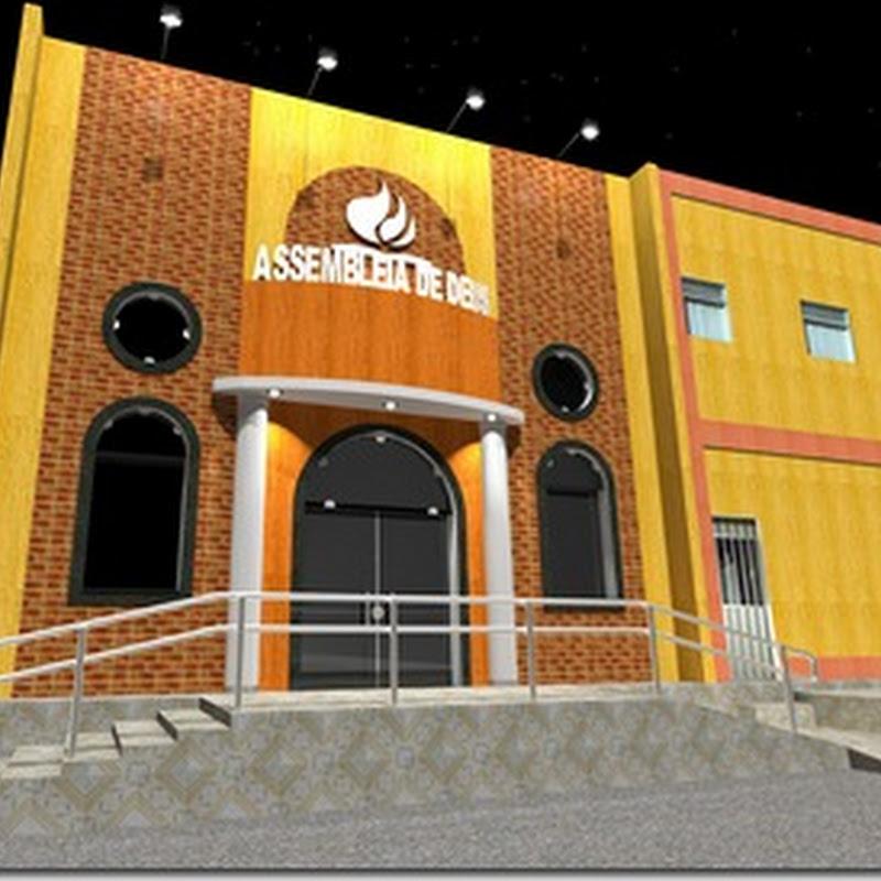 Reinauguração do Templo Sede da Assembleia de Deus em Macau-RN
