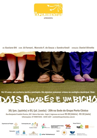 Flyer - Dois Amores - Porto Cenico