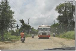 route gwailor orchha 053 état de la route