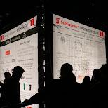 scotiabank info kiosk nuit blanche in Toronto, Ontario, Canada