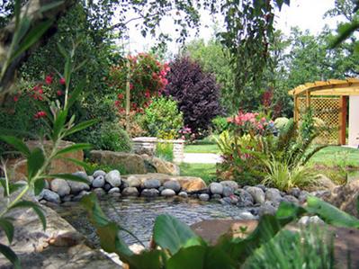 Fotos de decoraci n de jardines de campo dise o y - Jardines para casas de campo ...