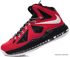 lbj10 fake colorway red black white 1 04 Fake LeBron X