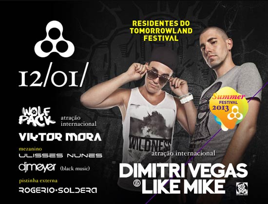Dimitri Vegas & Like Mike na Anzu Club em Itu