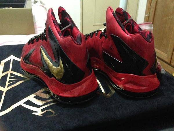 NIKE LEBRON – LeBron James Shoes » Nike LeBron X ... Lebron 10 Championship Red