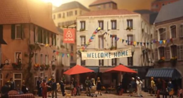 Airbnb publicidad