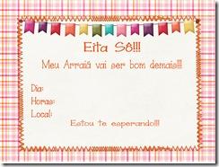 Copy of convite feminino - Page 1