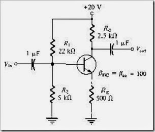 MCQs in Floyd's Bipolar Junction Transistor Amplifiers Fig. 01