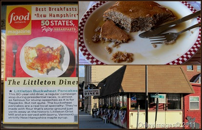 Littleton diner collage