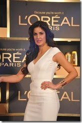 Actress Katrina Kaif @ L'Oreal Paris Product Launch Photos