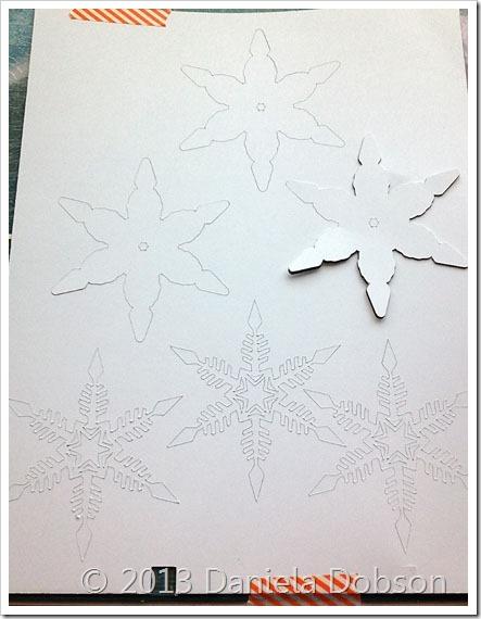 Samantha Walker snowflakes by Daniela Dobson