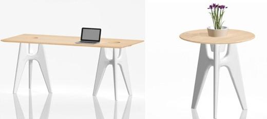collage tavolo e tavolino SERRALUNGA