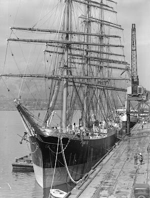 El PAMIR. Foto de City of Vancouver Archives