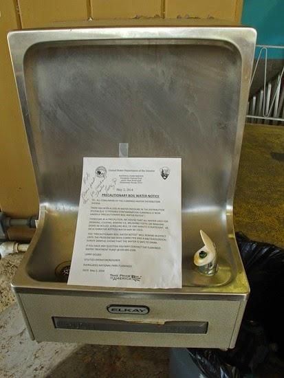 Water Boil Alert Flamingo Visitor Center Everglades National Park