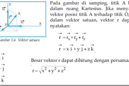 Contoh Soal Dan Pembahasan Vektor Di R3