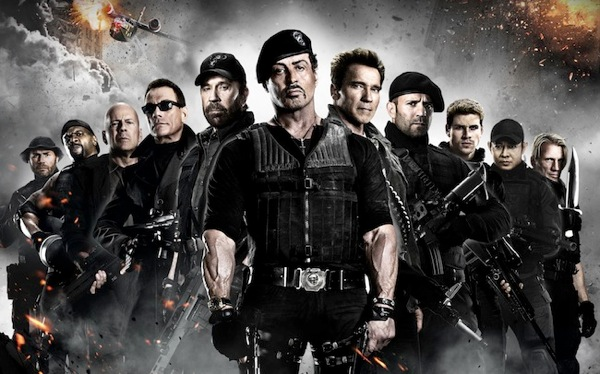 The expendables 2 team