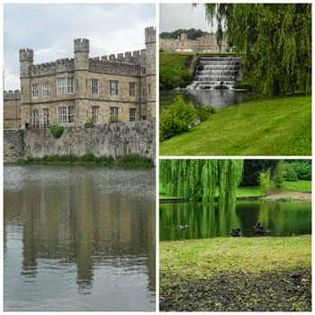 leeds castle Collage