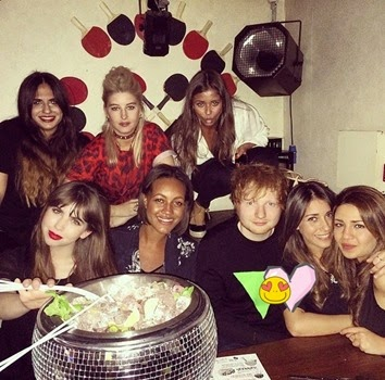 Ed Sheeran Girlfriend Athina Andrelos 10