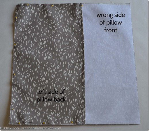 How to Sew a Pillow 25
