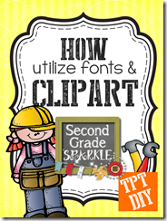 Do you want your TpT products to sell sell sell- Swap out fonts and clip art to make your units more appealing