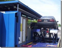 La planta de Verificación Técnica Vehicular reanudó su actividad