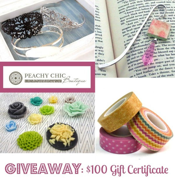 Peachy Chic Boutique Giveaway