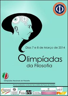 cartaz 2014 olimpiadas de filosofia