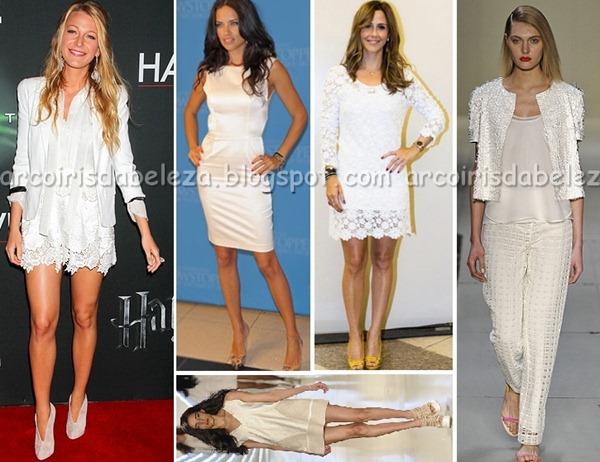 Total White 2012, Blog Arco Íris da Beleza