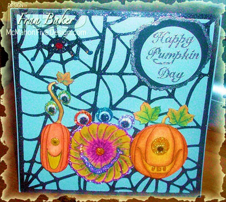 Happy Pumpkin Day Card Front View2