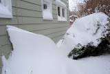 The wind created interesting drifts