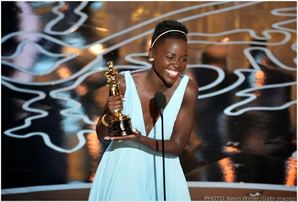 Best Supporting Actress winner Lupita Nyong'o