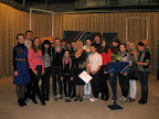 Галерея Съемки телепрограммы с участием коллектива школы (телестудия ОТБ 15 апреля 2011 года)