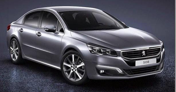 Peugeot 508 estreia visual atualizado
