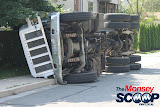 Overturned Truck On Paiken Drive In Spring Valley (Moshe Lichtenstein) - IMG_4440.JPG