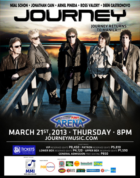 Journey Returns To Manila
