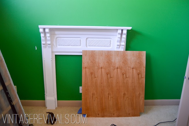 Mantle Headboard Update @ Vintage Revivals-7-2