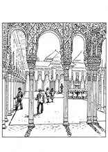 Patio de los leones (La Alhambra)