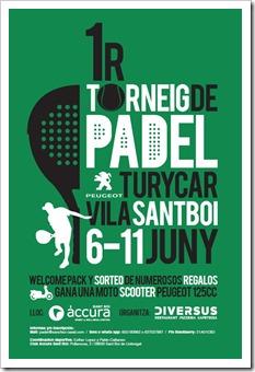 1 er torneo de padel turycar vila santboi junio 2011