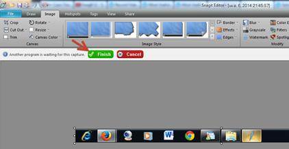 จับภาพหน้าจอใน Windows Live writer