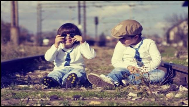 amigos de la infancia