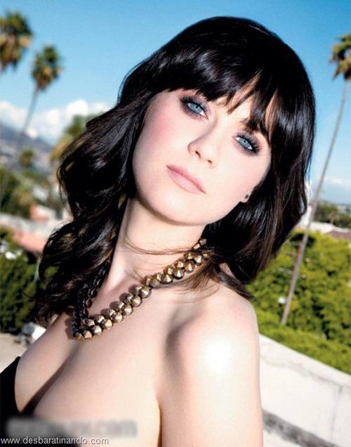 Zooey Deschanel linda sensual sexy sedutora desbaratinando (5)