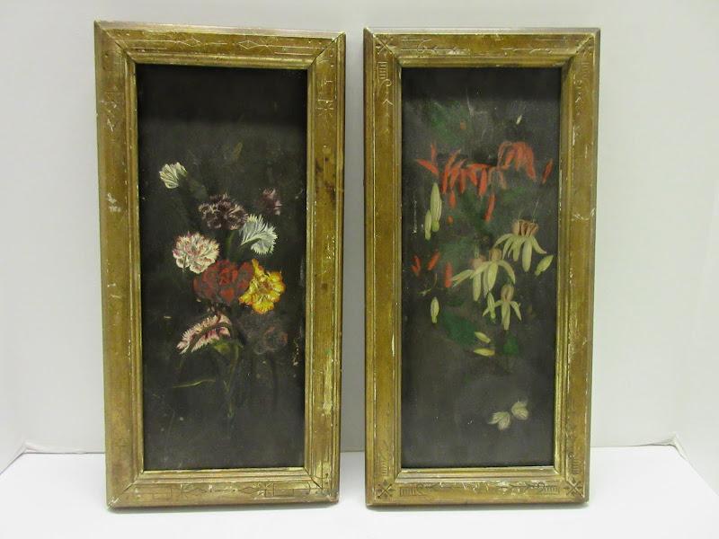 Botanical Painting Pair