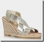Carvela Gold Wedge Sandal
