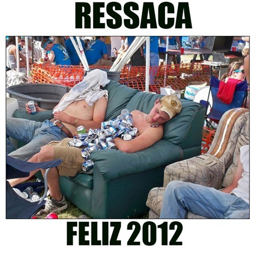 RESSACA DE 2012