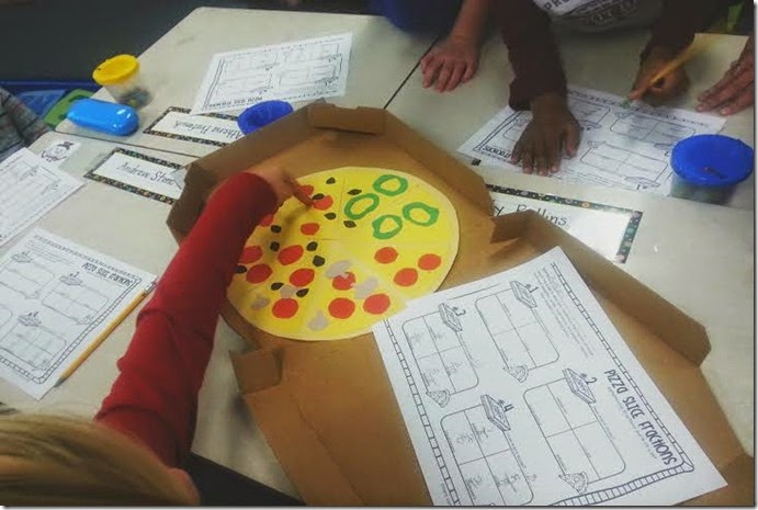 Pizza Slice Fractions