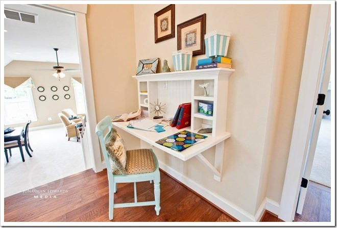 homework-nook- Decorating a Dream Home - www.sandandsisal.com