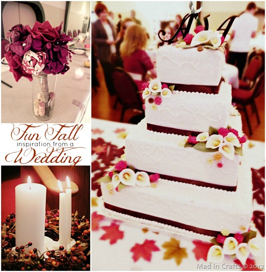 Inspiration from a Fun Fall Wedding