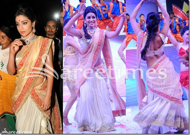 Shriya_White_Gold_Half_Saree(1)