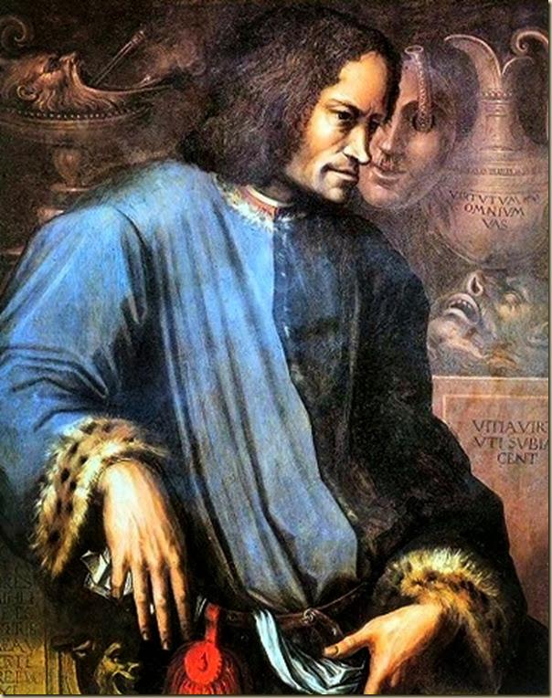 Vasari, Portrait posthume de Laurent de Médicis