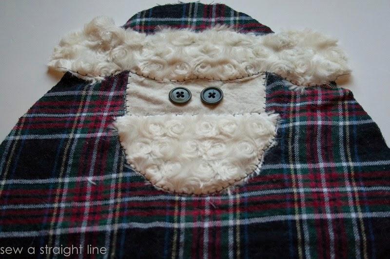 santa face pillows sew a straight line-5